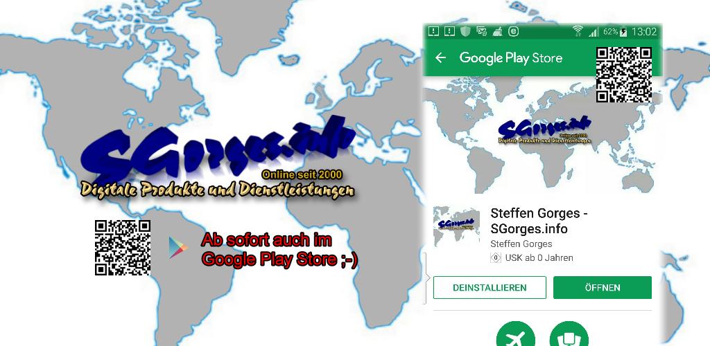 Steffen Gorges - SGorges.info by Google Play Store mit der Kontaktgarant Software